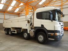 2009 Scania Tippers 21815