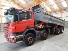 2005 Scania Tippers 21847