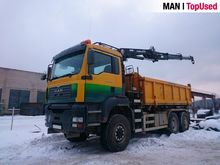 2003 MAN 26.413 6x6 Tipper with
