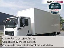 2013 MAN TGL 8.180 4X2 BL Caja