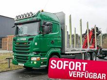 2015 Scania R520: Kurzholzfahrz