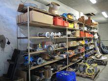 NN storage room with machine pa
