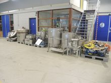 NN mixing installation Mixers