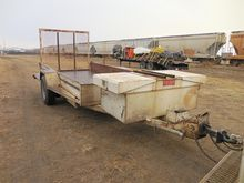 1985 TRAIL KING Flatbed Trailer