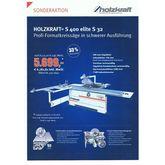 Formatsäge Holzkraft S 400