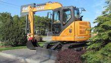 2014 Case CX75C SR Track excava