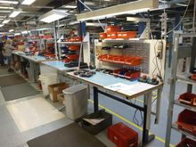 Assembly Benches (Qty 6) Powere