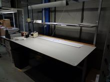 Adjustable Height Packing Table