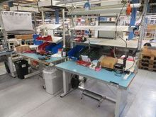 ESD Work Benches including powe