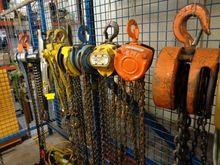 Various Lifting Hoists To inclu