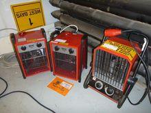 Clarke / Heatex Fan Heaters (Qt