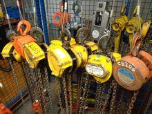 Various Lifting Hoists 8 off Mo