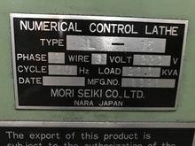 Mori Seiki Model SL-15 CNC Lath