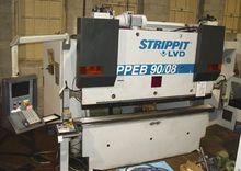 """90 Ton x 96"""" Strippit/LVD CNC H"""