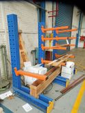 Assorted work benches, racks an