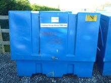Plastic Chemical Storage Cabine