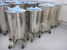 Stainless Steel Mobile Drums (Q