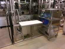 Washing cabinet stainless steel