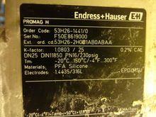 Endress Housser 'Promag 53' Flo