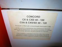 Concord Gas Fired Boiler  MRC_E