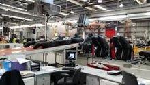 Automotive seat assembly line c