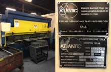 150 Ton X 12' Atlantic Model PP