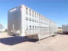 2015 WILSON Quad Axle Cattle Po