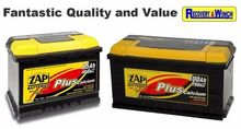 ZAP BATTERY RANGE AT OUR CARRIC