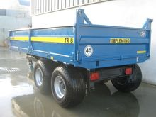 tipper trailers 8 ton