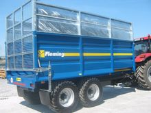fleming  silage tipper trailer,