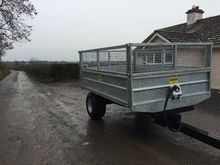 New tipping trailer