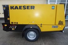 Kaeser M114 Mobile Compressor @