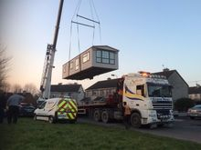 Mobile Home Crane Hire