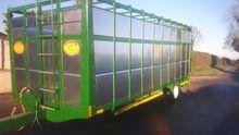 A&W Engineering  Cattle Trailer