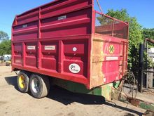 Marshall silage trailers