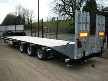 3 axle high speed low loader