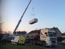 Mobile Home Crane Hire