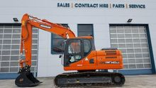 Used Doosan DX140LC