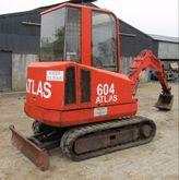 Atlas 604 3 tonne Mini Digger f