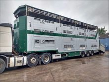 Pezzaioli livestock trailer