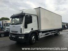 Iveco Euro Cargo 18 ton box Wit