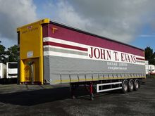 2011 SDC 45FT CURTAINSIDER