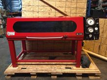 Hydraulic hose test bench for s