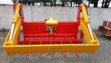 Bale Shear with plastic catcher