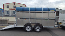 NEW 12X 6 CROOKS CATTLE TRAILER