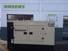 Used Doosan Generato