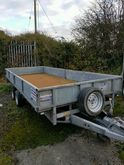 Ifor Williams builder's trailer