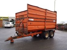 McCauley 16ft Silage Trailer