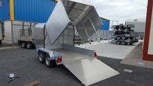 Used SHUTTLE TRAILER