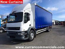 DAF LF55 18 ton Curtainsider Wi